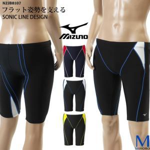 メンズ レーシングフィットネス水着 ミズノ N2JB8107|mizugi