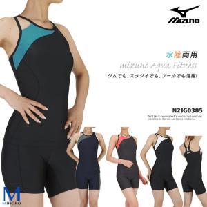 レディース フィットネス水着 セパレート mizuno ミズノ N2JG0385|mizugi