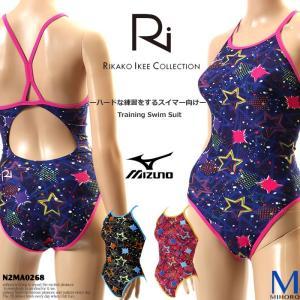 レディース 競泳練習用水着 mizuno ミズノ N2MA0268|mizugi