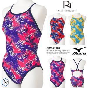 レディース 競泳練習用水着 mizuno ミズノ N2MA1767 mizugi