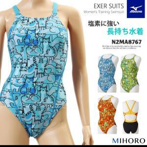 レディース 競泳練習用水着 女性 mizuno ミズノ ネコ N2MA8767(特別価格につき交換返品不可)|mizugi