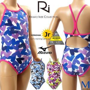 ジュニア水着 女子 競泳練習用水着 ディズニースティッチ N2MA9466|mizugi
