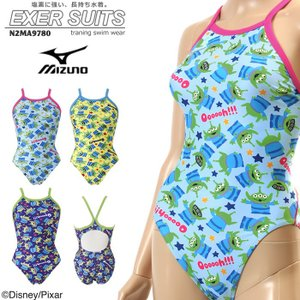 レディース 競泳練習用水着 女性 mizuno ミズノ ディズニー トイストーリー N2MA9780