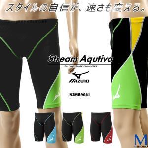 FINAマークなし メンズ 競泳水着 男性 mizuno ミズノ N2MB9041 mizugi