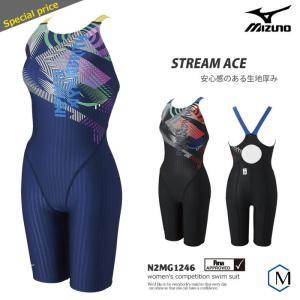 FINAマークあり レディース 競泳水着 mizuno ミズノ N2MG1246|mizugi