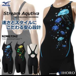 FINAマークなし レディース 競泳水着 ミズノ N2MG7242|mizugi