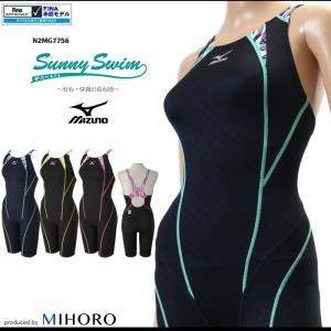 FINAマークあり レディース 競泳水着 ミズノ N2MG7756 mizugi