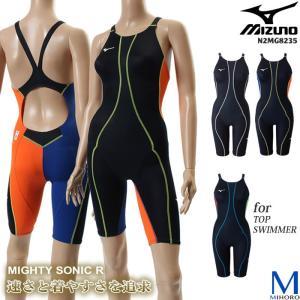 FINAマークあり レディース 競泳水着 mizuno ミズノ N2MG8235|mizugi