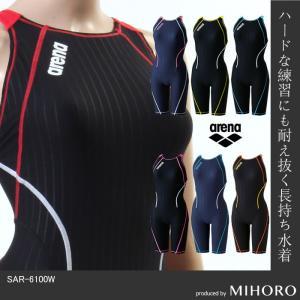 【全品対象クーポン配布中】レディース 競泳練習用水着 アリーナ SAR-6100W|mizugi