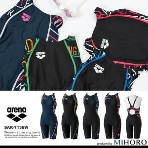 FINAマークなし レディース 競泳水着 アリーナ SAR-7136W