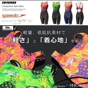 FINAマークあり レディース 競泳水着 スピード SD46H08 mizugi
