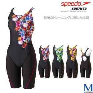 レディース レーシングフィットネス水着 オールインワン speedo スピード SD57N70|mizugi