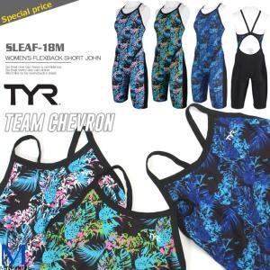 レディース 競泳練習用水着 TYR ティア SLEAF-18M|mizugi