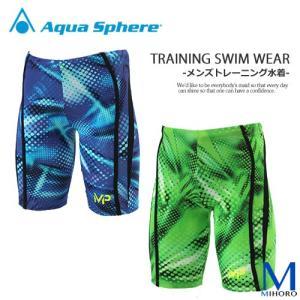 メンズ 競泳練習用水着 マイケルフェルプス エムピー MP アクアスフィア COMP JAMMER PRINT1|mizugi