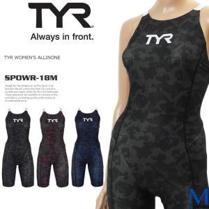 レディース 競泳練習用水着 ティア SPOWR-18M|mizugi