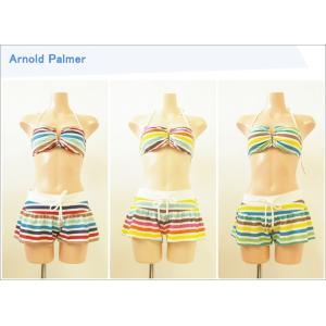 ArnoldPalmer【アーノルドパーマー】レディース水着 パンツ付き3点セット