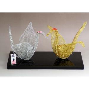 水引 置物 折鶴|mizuhikiart-shop2