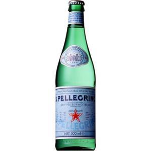 炭酸水 500ml サンペレグリノ グラスボトル 500mL...
