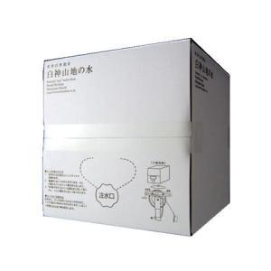 水 軟水 20L 世界遺産が育んだ超軟水 白神山地の水 20Lパックインボックス 国産名水 メーカー直送によるお届け 代引不可|mizuhiroba-jp