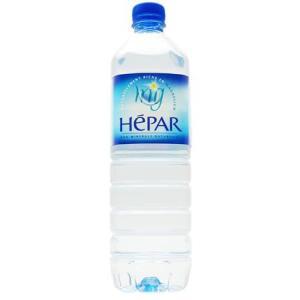 [入荷まち] 水 硬水 エパーHepar 1Lx12本入り ...