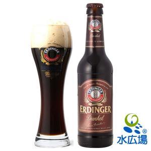 ほんのりとチョコレートの風味が利いた、まろやかな味わいの黒ビールがエルディンガー・ヴァイスビア・デュ...