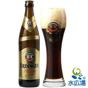 ドイツで最も売れている小麦ビール(上面発酵)、エルディンガー。アルコール度数7.3%ながら非常になめ...