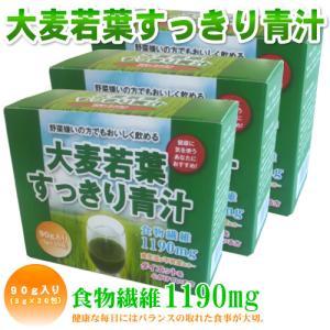 ミズケン お得な3箱セット 大麦若葉 すっきり青汁 ビタミン ミネラル 食物繊維 美味しい 3g×30包入り×3箱 約3ヶ月分 |mizuken-yahuu