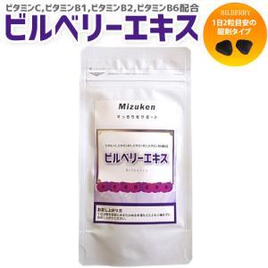 ビルベリーエキス 60粒入り 約1ヶ月分 ビタミン アントシアニン サプリメント ※ネコポスのみ(配送時間指定出来ません) ミズケン|mizuken-yahuu