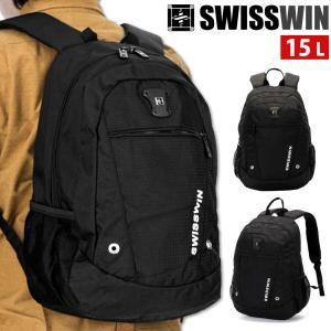 リュックサック 大容量 リュック ブラック メンズ リュックレディース SWISSWIN ブランド ...