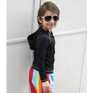 ラッシュガード キッズ 男の子 子供服 90c...の詳細画像5