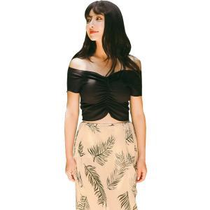 水着 ビキニ オフショルダー トップス レディース 体型カバー スカート 3点セット オトナ女子 可愛い セクシー バックフリル|mizuki-store