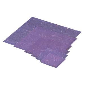 ラミネート 金箔紙(500枚入)紫 M30-414 mizumawari-chuubou
