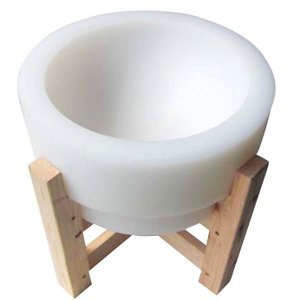 プラスチック 餅臼(木台付)φ500|mizumawari-chuubou