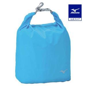 ミズノ公式 ロールバッグS ブルー