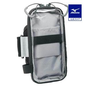 ミズノ公式 アームポーチポケット付き ブラック