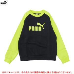 PUMA(プーマ)ジュニア クルースウェット(839771)スポーツ トレーナー カジュアル ジュニア mizushimasports