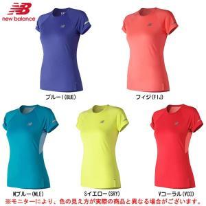 64f0ec38d61f7 new balance(ニューバランス)ICE v2ショートスリーブTシャツ(AWT81200)スポーツ ランニング 半袖 レディース