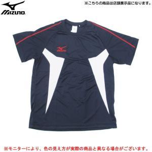 ■品番 32JA601814  ■商品説明 吸汗速乾素材を使用したミズノの半袖Tシャツです。  【店...