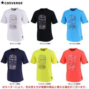 CONVERSE(コンバース)9S Tシャツ 裾ラウンド(CBE291318)スポーツ トレーニング...