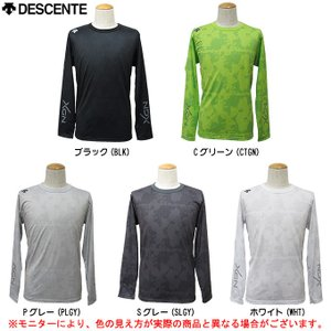 DAT-5352L:デサント ロングスリーブ シャツ  ■素材 DSドライフェイスメッシュ(ポリエス...