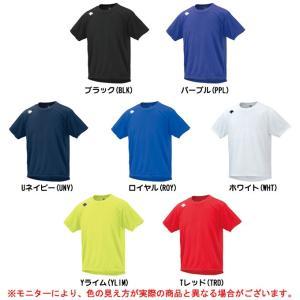 DESCENTE(デサント)ワンポイント 半袖シャツ(DRN5311)スポーツ トレーニング ランニング Tシャツ メンズ