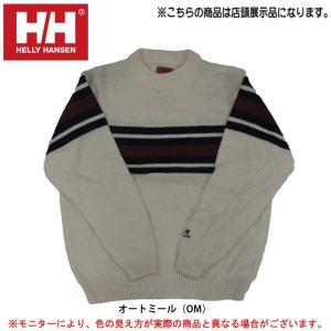 【店頭展示訳あり商品】HELLY HANSEN(ヘリーハンセン)メンズ セーター(HOK4851)カジュアル スポーツ 男性用 メンズ|mizushimasports