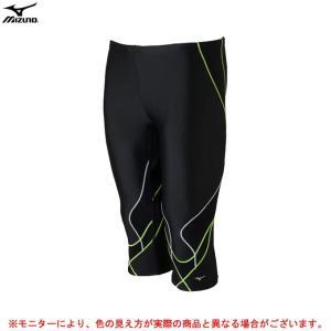 MIZUNO(ミズノ)アクアフィットネス用BGアクアライト2 スパッツ(6分丈)(N2JB7650)...