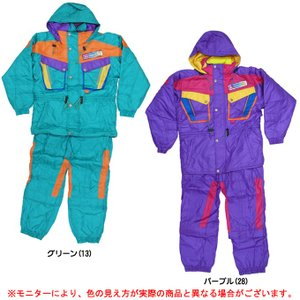 ■サンビ(SANVI)ジュニア スキーウェア上下セット(SJ352)セットアップ サロペット ジャケット パンツ JR 子供用|mizushimasports