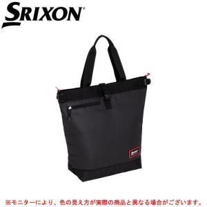 SPC2673:スリクソン トートバッグ(ラケット収納可)  ■素材 ポリエステル  ■カラー ブラ...