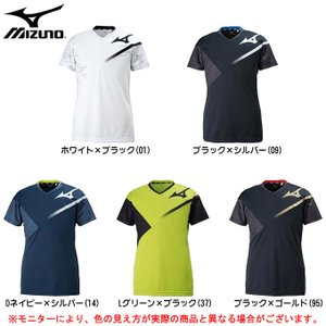 MIZUNO(ミズノ)プラクティスシャツ(V2MA8080)バレーボール トレーニング Tシャツ 半...