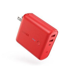 Anker PowerCore Fusion 5000 (モバイルバッテリー 搭載 USB充電器 5...
