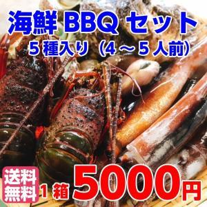 海鮮バーベキューセット バーベキュー 海鮮 セット 福袋 海鮮豪華5点盛りセット 海鮮BBQ お吸い...