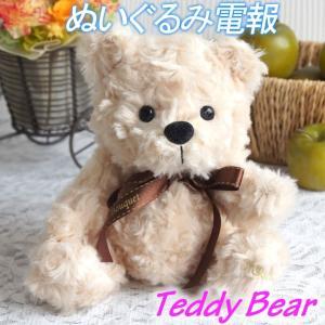 ぬいぐるみ くま 単品 テディベア 誕生日 記念日 お祝い プレゼント 出産祝い 女の子 男の子 母 娘|mizutomo
