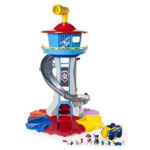 パウパトロール 犬のレスキュー隊 PAW Patrol フィギュア PAW Patrol My Size Lookout Tower with Exclusive Vehicle, Rotating Periscope & Lights & S